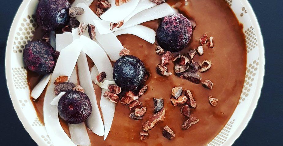 Chocola-blauwebessen-courgette-bowl